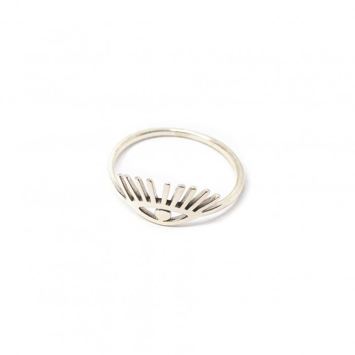 Inel din Argint cu Model Ochi [0]