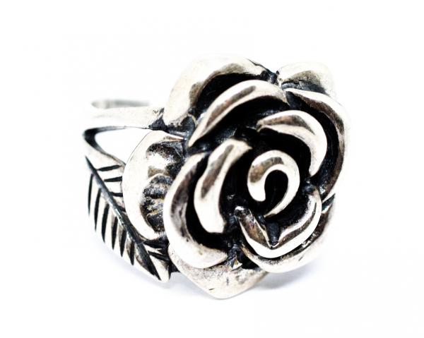 Inel Argint Trandafir 1