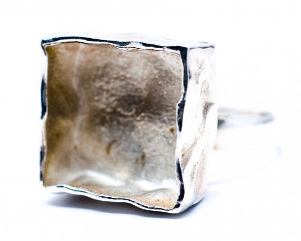 Inel din Argint  Broscute 2