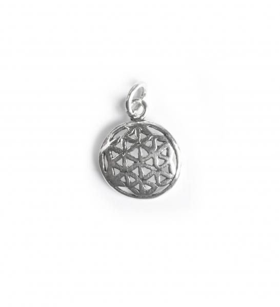 Pandantiv din Argint Floarea Vietii 0