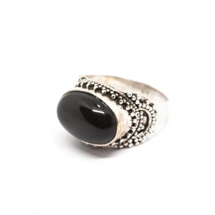 Inel din Argint cu Onix [0]