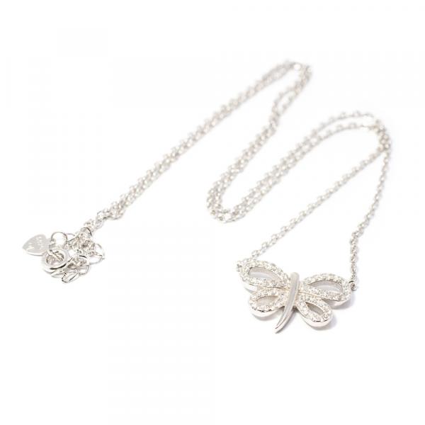 Lanț din Argint cu Pandantiv Fluture [1]