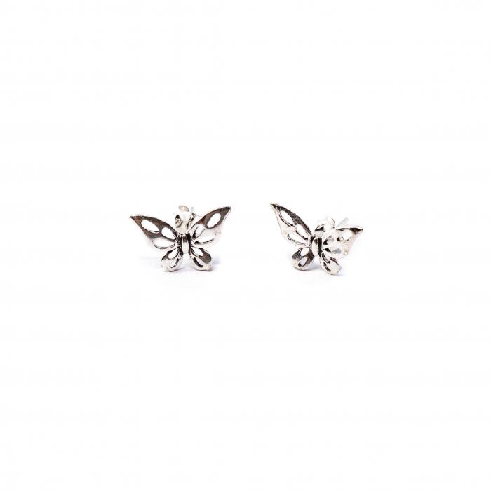 Cercei Fluturas din Argint [0]