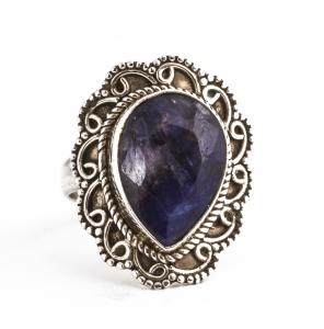 Inel din Argint cu Sodalit Fațetat0