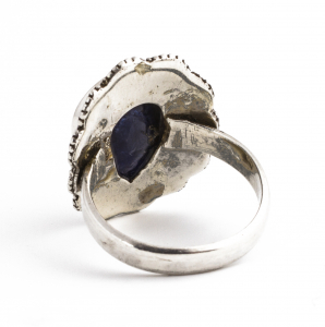 Inel din Argint cu Sodalit Fațetat1