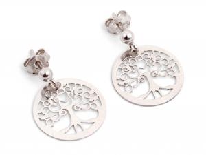 Cercei din Argint Copacul Vietii0
