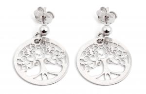 Cercei din Argint Copacul Vietii1