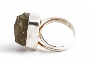 Inel din Argint cu  Labradorit Brut1