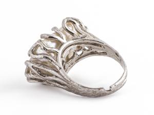 Inel  din Argint cu Perlă de Cultură1