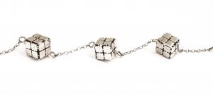 Brățară din Argint Cuburi0