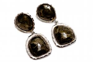 Cercei din Argint cu Safir Copt [0]