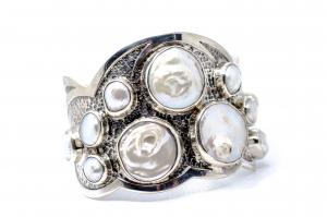 Bratara din Argint  Catusa cu  Perla2