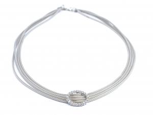Lant din Argint cu Zirconiu1