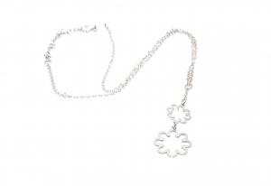 Lant din Argint cu Pandantiv Floare0