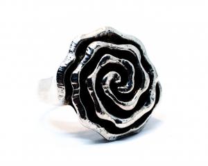 Inel din Argint Trandafir1