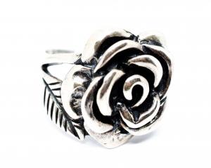 Inel Argint Trandafir0