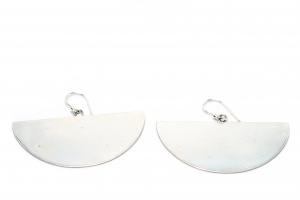 Cercei din Argint Semicerc1