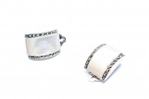 Cercei Clips Sidef si Marcasite1