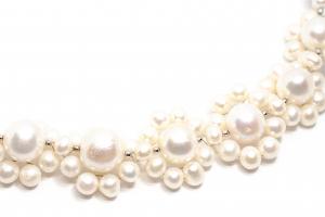 Colier Creatie din Perle cu Argint1