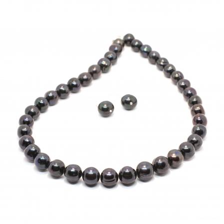 Set Creatie Colier si Cercei cu Perle de Cultura si Argint [0]