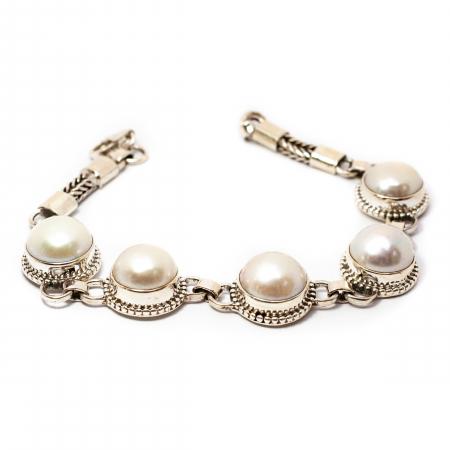 Bratara din Argint cu Perla de Cultura [0]