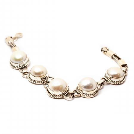 Bratara din Argint cu Perla de Cultura [1]