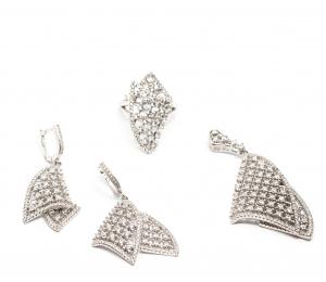Set din Argint cu Zirconii1