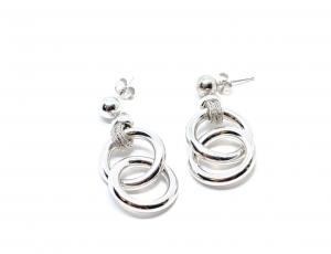 Cercei din Argint cu Cercuri1
