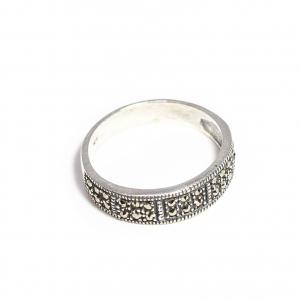Inel din Argint cu Marcasite0