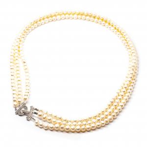 Colier Creatie cu Perla de Cultura si Argint [0]