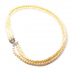 Colier Creatie cu Perla de Cultura si Argint [1]