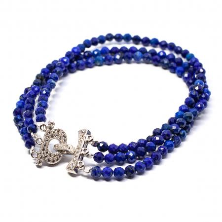 Bratara cu Lapis Lazuli si Argint [0]