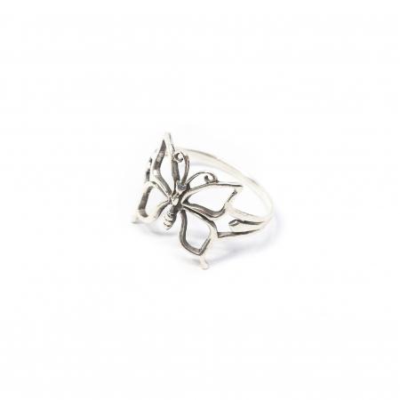 Inel din Argint Fluture0