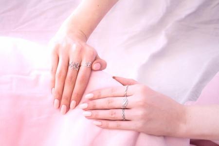 Inel din Argint cu Inimioare1