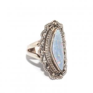 Inel din Argint cu Opal1