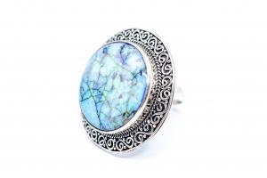 Inel din Argint cu Opal Imperial1