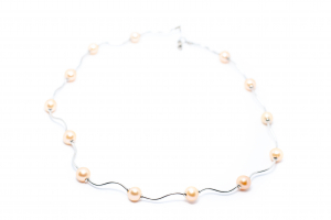 Lant Creatie Perle si Baghete de Argint [0]
