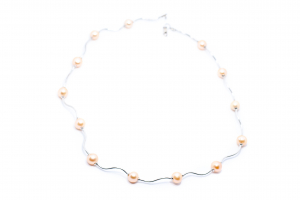 Lant Creatie Perle si Baghete de Argint [1]