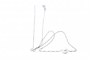 Lant din Argint cu Perla1