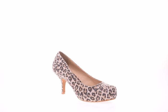 Pantofi dama leopard 2