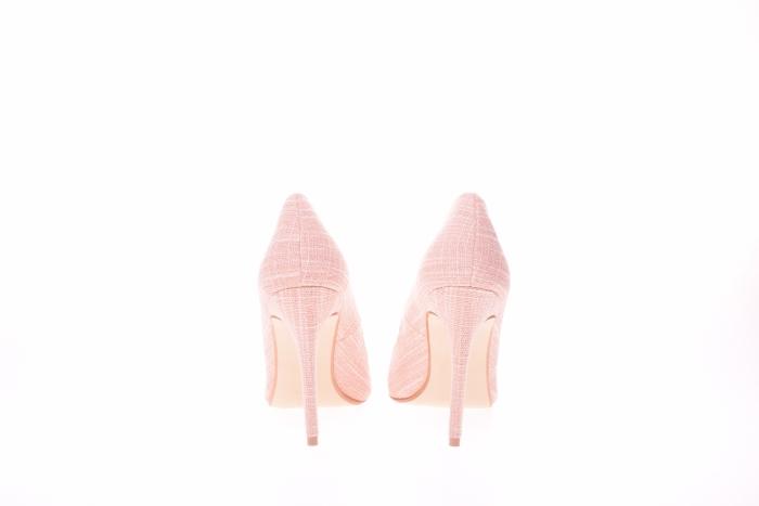 Pantofi stiletto dama, roz 5