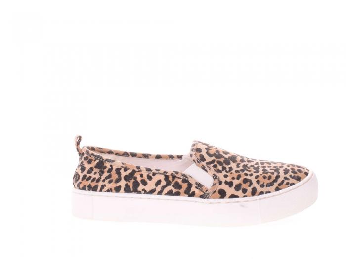 Espadrile leopard dama 0