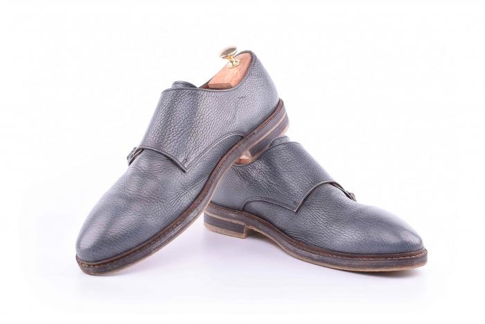 Pantofi barbati Monk Strap 3