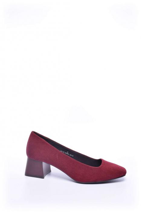 Pantofi dama cu toc gros [0]