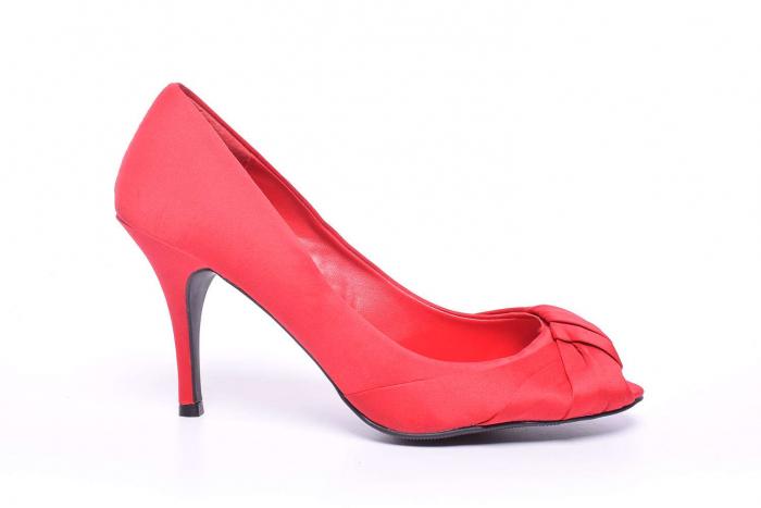 Pantofi dama cu toc subtire 0
