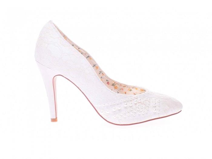 Pantofi dama cu pietricele 0