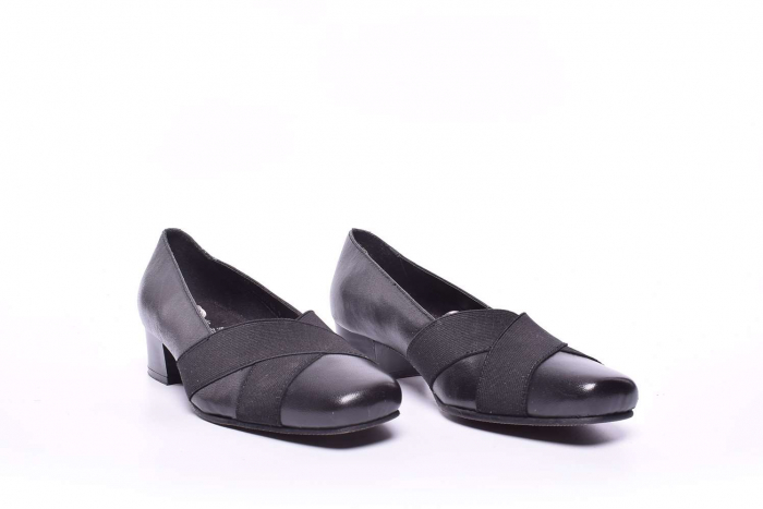 Pantofi ortopedici cu toc 2