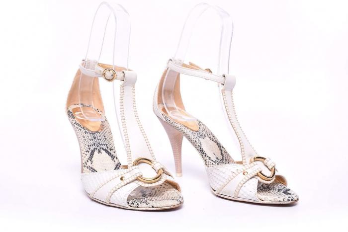 Sandale dama cu toc 2