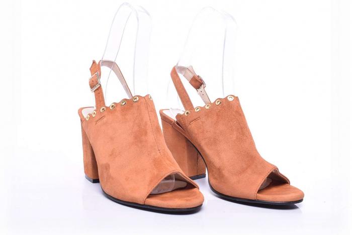 Sandale dama cu toc gros 2