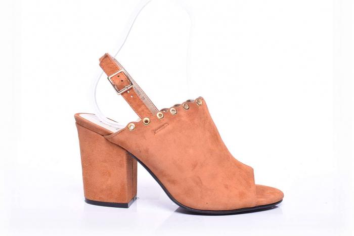 Sandale dama cu toc gros 0